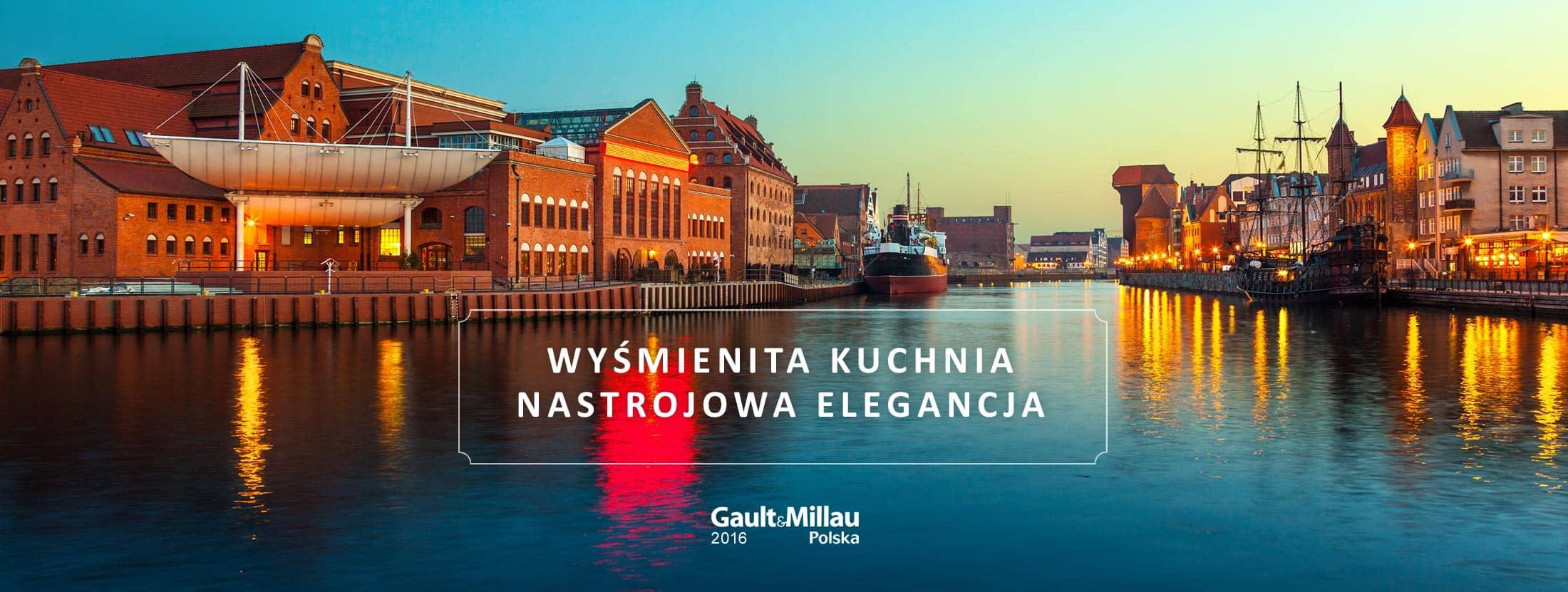 Restauracja Filharmonia umiejscowiona jest nad Rzeką Motława